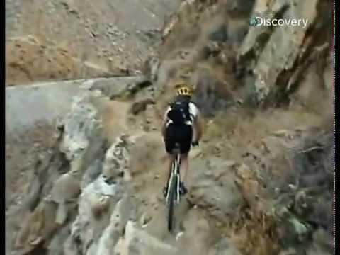 С велосипеда в пропасть