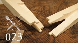 Joint Venture Ep.23: Rabbeted halved and pinned scarf joint