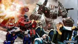 TRANSFORMERS THE FALL OF CYBERTRON-video musicale