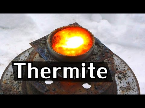 How Easily Can Thermite Actually Melt Steel? - NightHawkInLi