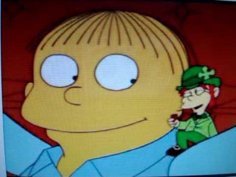 Simpsons - Ralph Wiggum Leprechaun 2