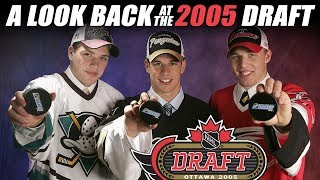 A Look Back At The NHL Draft In 2005