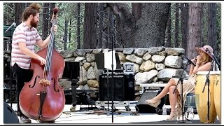 "Casey Abrams & Haley Reinhart ""Steam Roller Blues"" Idyllwild"