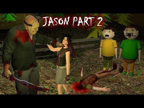 Jason - Horror Story Part 2 - Animated Stories   Animation In Hindi   Make Joke Horror