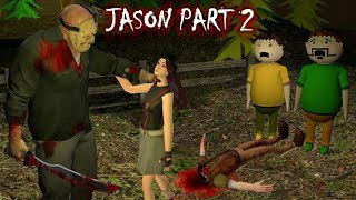 Jason - Horror Story Part 2 - Animated Stories | Animation In Hindi | Make Joke Horror