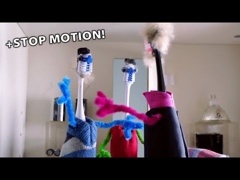 Dance Monkey on Electronic Devices (+ Stop Motion)
