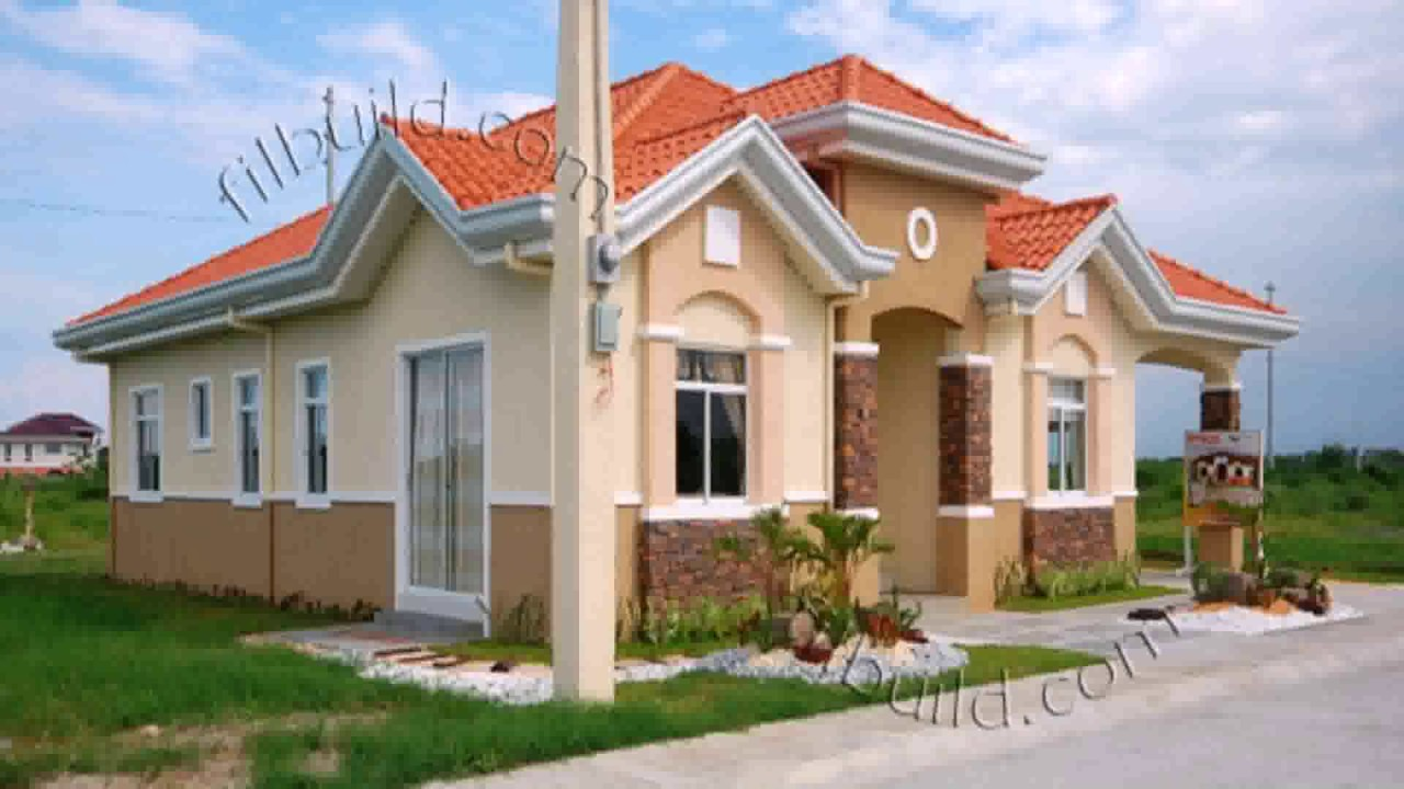 House design bungalow style youtube for House design for small houses philippines