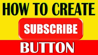 How to Create Subscribe Button & Bell button  | Subscribe button green screen download