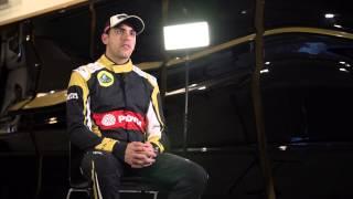 F1 2015 - Lotus Mercedes - Interview with Pastor Maldonado