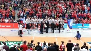 Siegerehrung - der DSC ist Deutscher Meister