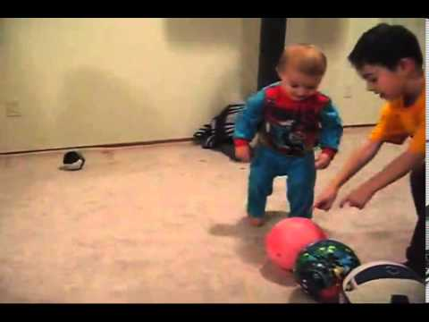 Baby Basketball Trick Shots Video