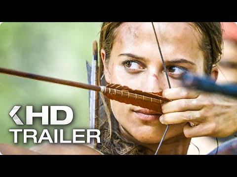 "Thumbnail: TOMB RAIDER ""Becoming Lara Croft"" Featurette & Trailer (2018)"
