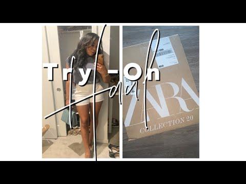 Try-On Haul    Zara, Lululemon, Skims , Ego Official
