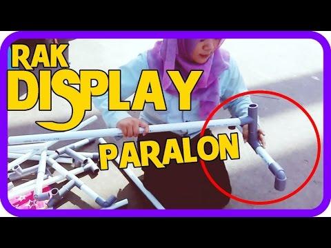 Cara Membuat Rak Display Baju menggunakan Paralon LOW