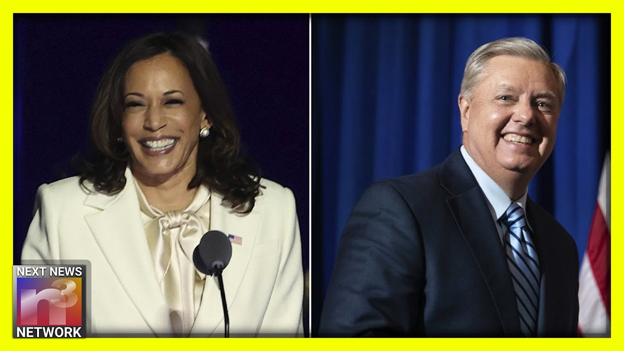 UNBELIEVABLE! Lindsey Graham is Back to His Old Ways after Having This Interaction w/ Kamala Harris