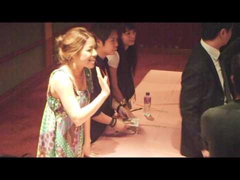 Yuna Ito in Hong Kong Signing section