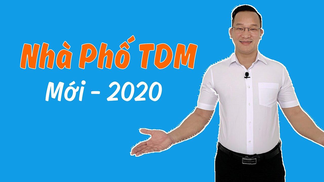 NHÀ PHỐ THỦ DẦU MỘT 1 TRỆT 2 LẦU FULL NỘI THẤT – MỚI 2020
