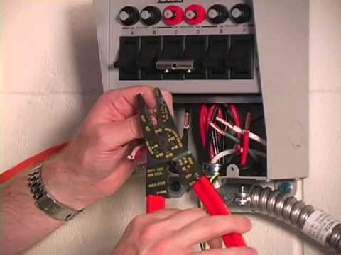 Installation Reliance Controls 6 Circuit 30 Amp Transfer