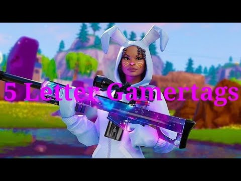 Clean OG 5 Letter Fortnite Gamertags Not Taken 2019 (Xbox/PS4) Pt 14