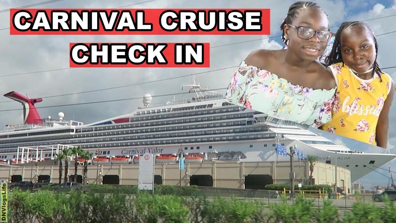 carnival cruise valor vlog 2018 check in dnvlogslife youtube