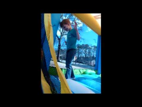 Bounce House Balloon Popping Competition