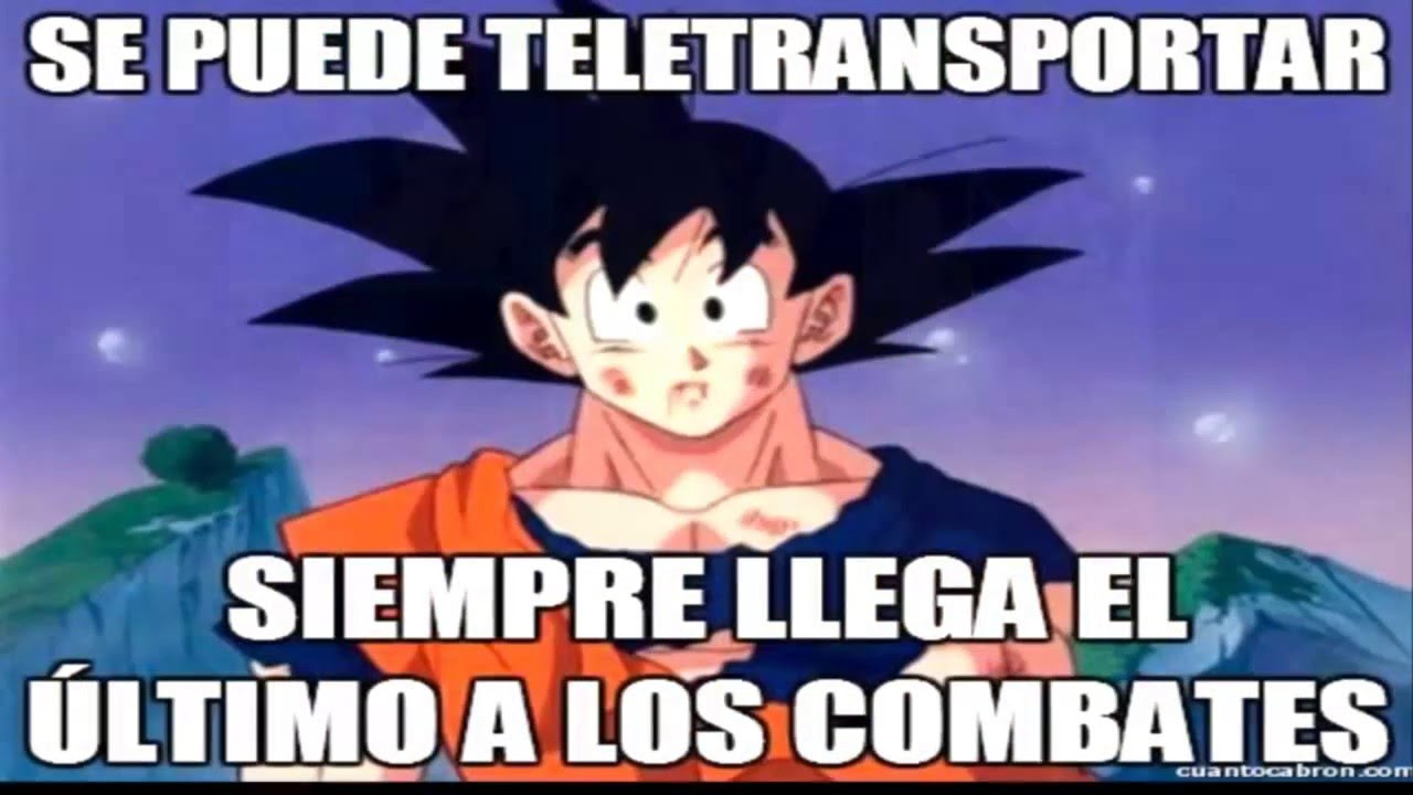 Top 100 Memes De Dragon Ball Z En Espanol Version 2