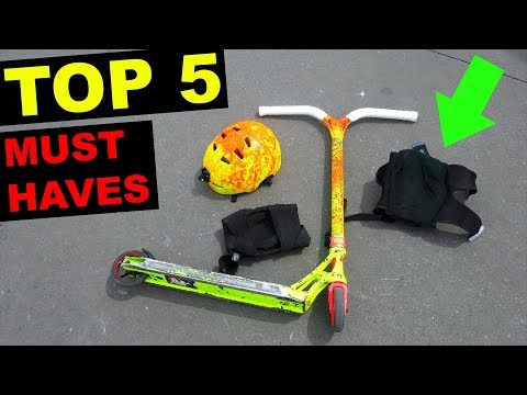 TOP 5 SKATEPARK MUST HAVES!