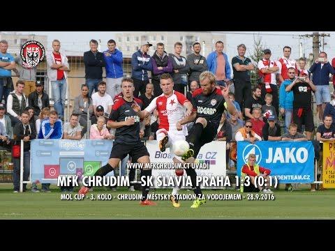 MFK CHRUDIM - SK SLAVIA PRAHA 1:3 (0:1) - MOL CUP - 3. kolo - Chrudim -  28.9.2016