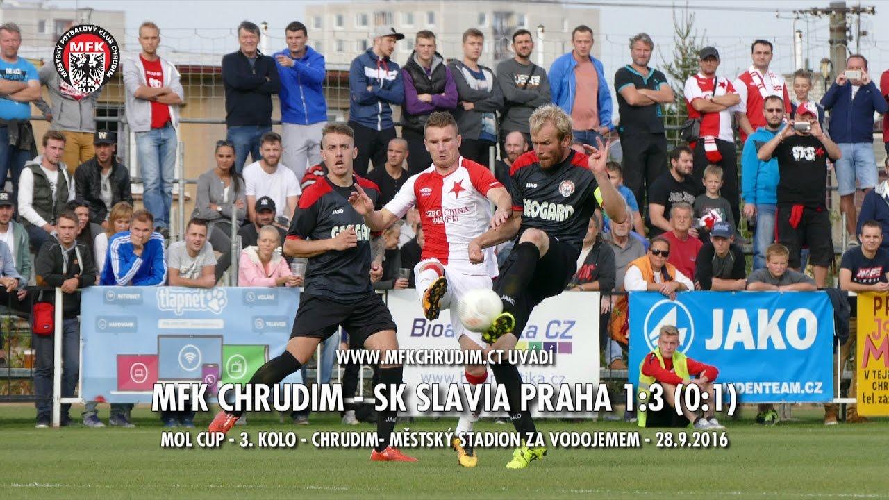 MFK CHRUDIM - SK SLAVIA PRAHA 1:3 (0:1) - MOL CUP - 3. kolo - Chrudim - 28.9.2016 - YouTube