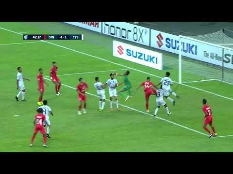 Ikhsan Fandi 42' vs Timor-Leste (AFF Suzuki Cup 2018: Group Stage)