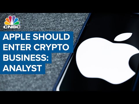 Apple Should Enter Crypto Business: RBC Analyst