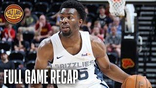 CAVALIERS vs GRIZZLIES | Balanced Attack Leads Memphis | Salt Lake City Summer League
