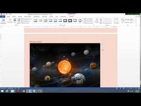 Our Solar System Step by Step Video