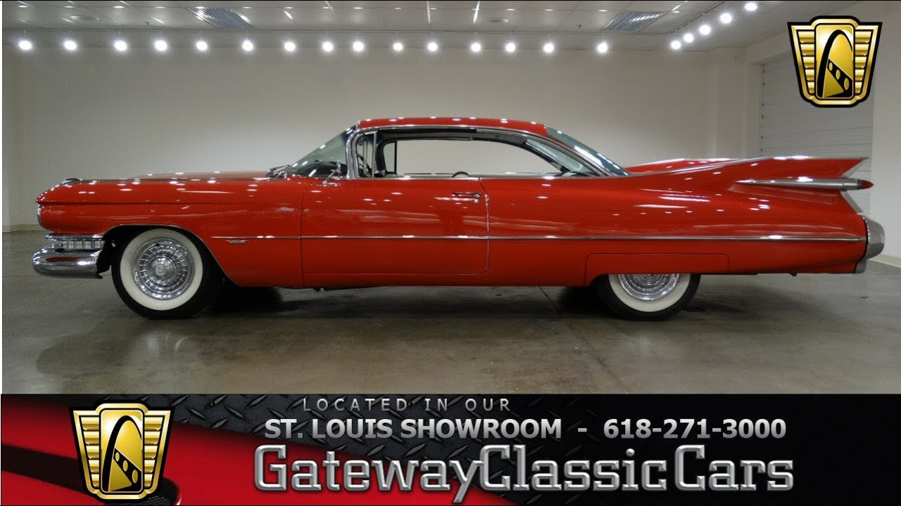 1956 cadillac deville for sale on classiccars com 9 - 1959 Cadillac Coupe Deville Gateway Classic Cars St Louis 6671 Youtube