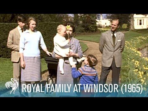 Royal Family At Windsor (1965)