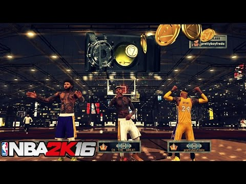NBA 2K16 Stage - OMG WE WON THE JACKPOT!!!!!!!!..SO MUCH VC!!!!!.......yeet