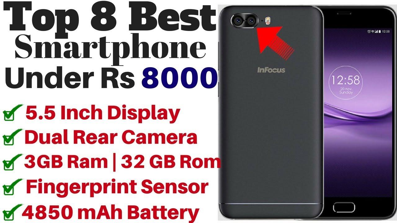 61bdc013ea8 Top 8 Best Budget Smartphones Under Rs 8000 In 2018. - YouTube
