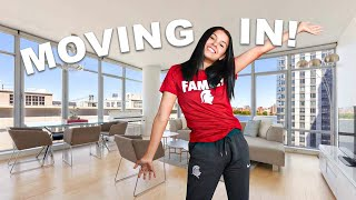 MOVING into my APARTMENT *PART 2*
