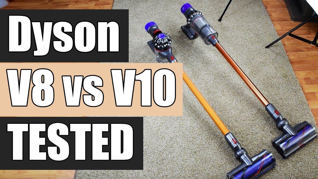 dyson v8 vs dyson v10 detailed tests and comparison. Black Bedroom Furniture Sets. Home Design Ideas