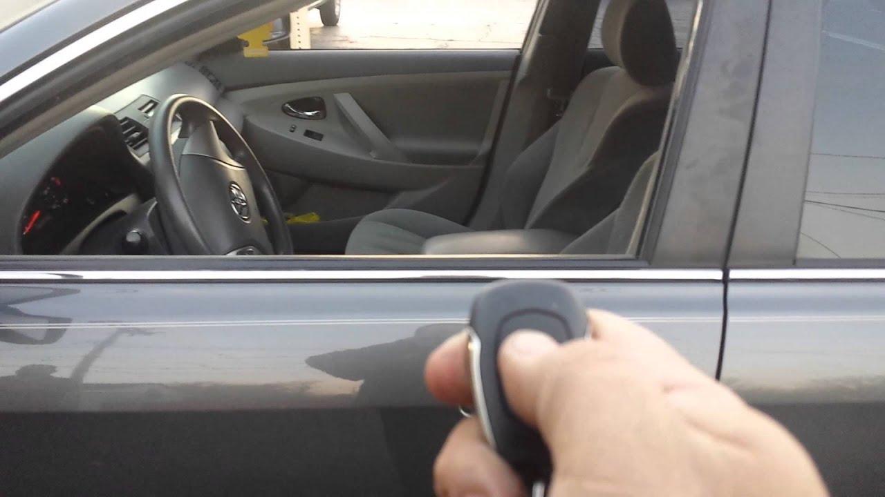 2009 Toyota Camry Remote Starter Youtube Infiniti Intelligent Key