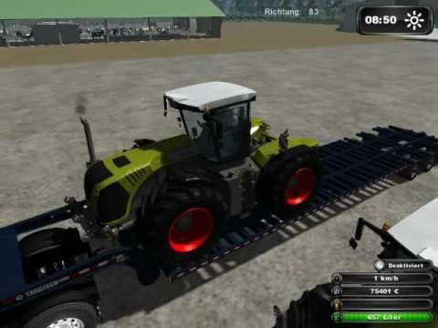 Landwirtschafts Simulator 2011 HD Schwertransport  (MAN, Trailtech XL, Claas)