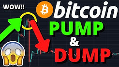 HUGE WARNING!!! BITCOIN PUMP & DUMP MANIPULATION HAPPENING NOW!!?? $10,000 BY NEXT WEEK??