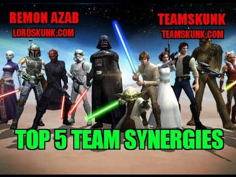 Star Wars Galaxy of Heroes: Top 5 Team Synergies - SWGOH - R