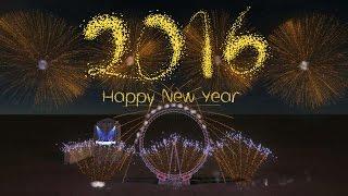 New Year's Eve 2016 London Eye Fireworks - FWsim thumbnail