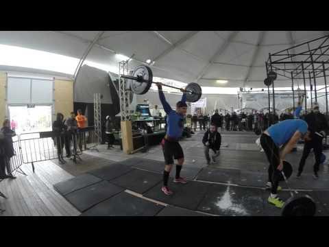 CrossFit Jerusalem Challenge 2016 (WOD 3)