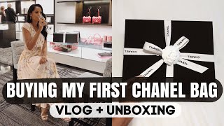 Buying My First CHANEL Bag In NYC | VLOG + UNBOXING