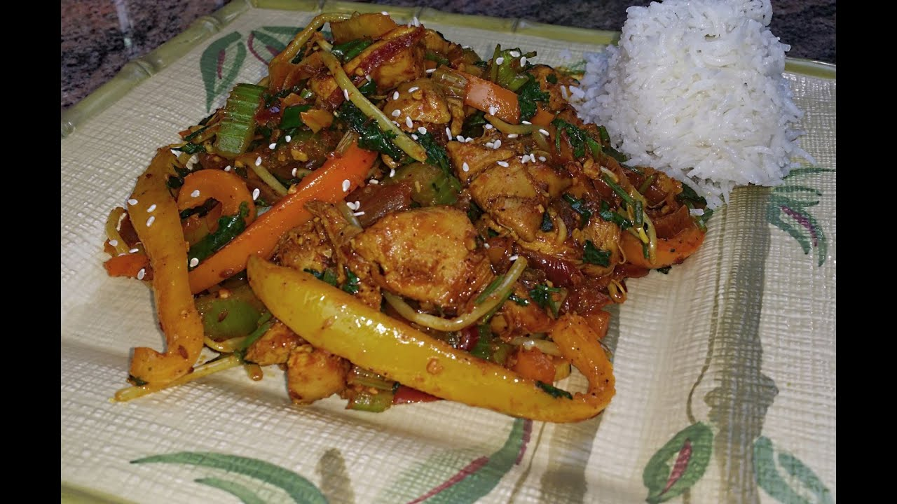 Boneless Chicken Thighs with Bell Pepper | Bell Pepper ...