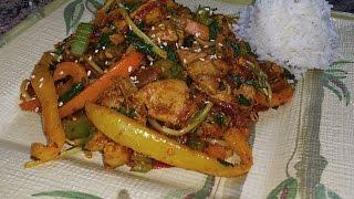 Boneless Chicken Thighs with Bell Pepper