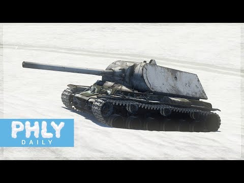 THE MINI MAUS | KV-1B Finnish (War Thunder Rare Tank)
