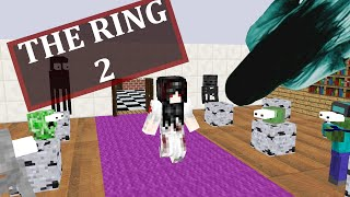 Monster School : THE RING MOVIE 2 CHALLENGE - Minecraft Animation